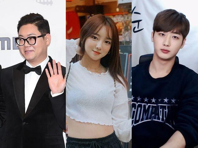 BJ 감스트, 외질혜, NS남순이 성희롱 발언으로 논란에 휩싸였다. MBC 제공, 외질혜, NS남순 인스타그램