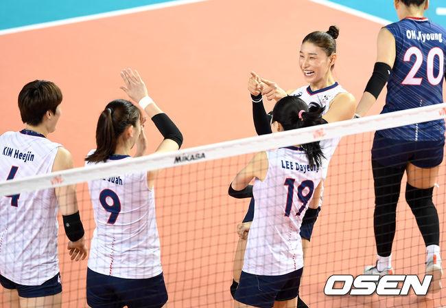 김연경 23득점 여자배구, 숙적 일본 꺾고 VNL 2승째