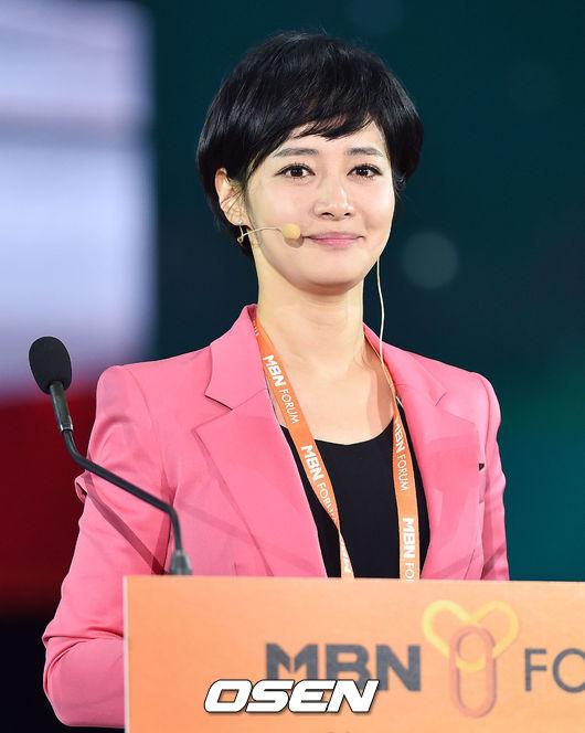 [OSEN=이동해 기자] 창간 50주년을 맞은 매경미디어그룹이 서울 장충체육관에서 'MBN Y 포럼 2016(MBN Y FORUM 2016)'을 개최했다. 김주하 MBN 특임이사 겸 앵커가 청중들을 바라보고 있다.
