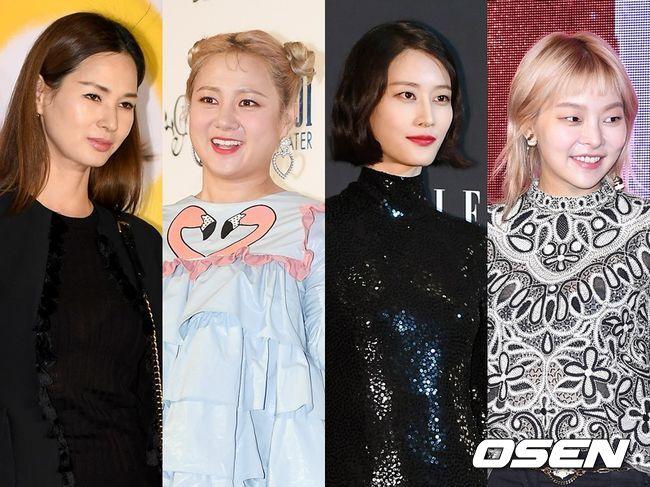 이소라, 박나래, 이현이, 송해나. OSEN DB