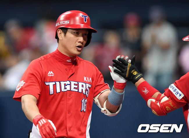 [사진]김주찬,홈런 추가 합니다