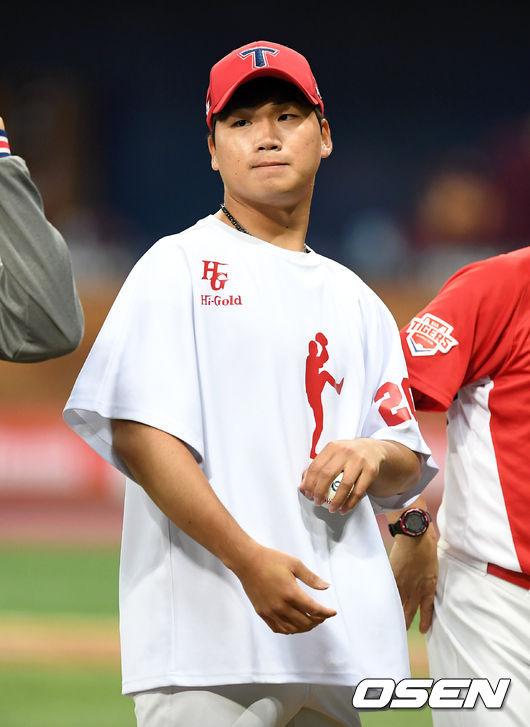 [사진]김기훈,소중한 첫 승리구