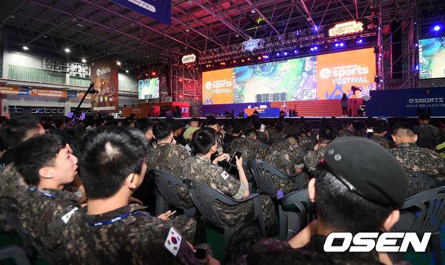 [Oh!쎈 초점] 군 장병 e스포츠 대회, 문화 콘텐츠 확산위한 첫발