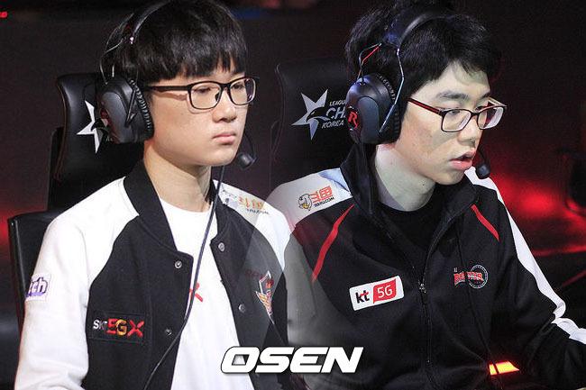 [롤챔스] SK텔레콤 에포트 이상호, 3경기 연속 선발...KT,엄티 엄성현 출전