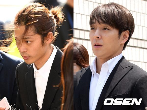 정준영(왼쪽), 최종훈(오른쪽)/ OSEN DB