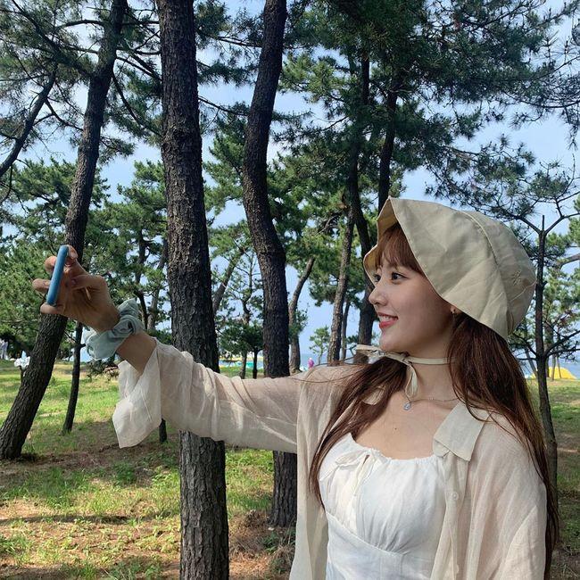 정다빈, 잘 자란 아이스크림 소녀..여전한 인형 비주얼 [★SHOT!]