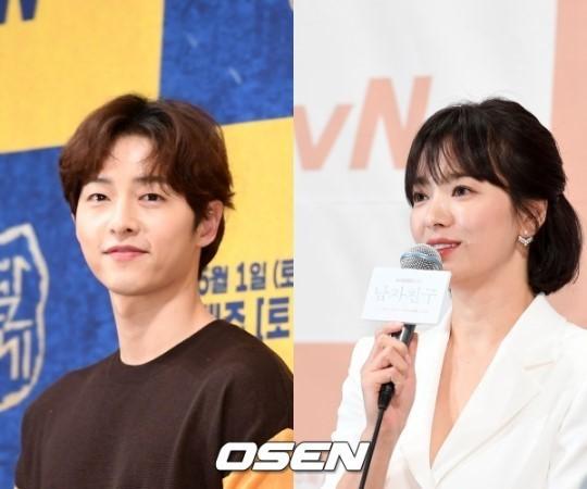[사진=OSEN DB] 이혼 절차를 밟은 배우 송중기(왼쪽)와 송혜교(오른쪽)