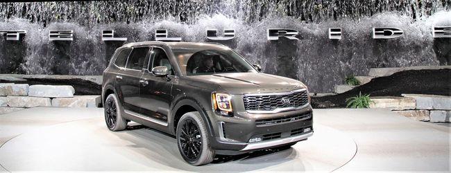 기아차의 상반기 영업이익 수직상승에 기여한 대형 SUV 텔루라이드.