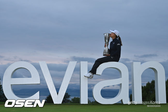 메이저만 쏙쏙 고진영, 에비앙 챔피언십 역전 우승으로 LPGA 통산 5승째