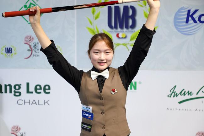 18세 한지은, 최강 테레사 꺾고 버호벤 오픈 女 우승 파란