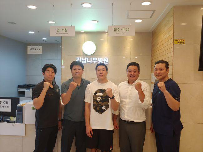 기원빈, 강남나무병원 후원 받고 챔피언 도전
