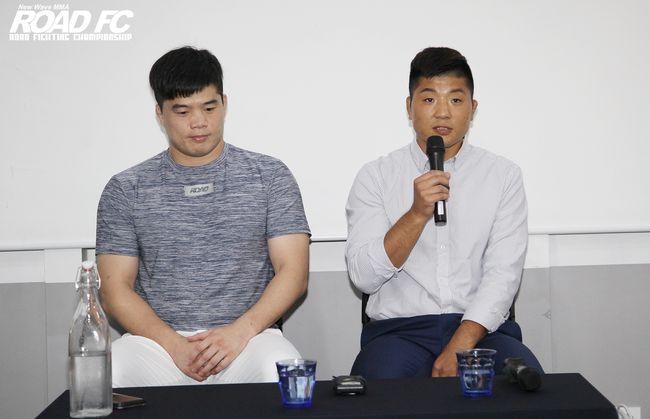 ROAD FC 前챔피언 김수철, 신동국과 함께한 권아솔의 훈련 영상 '최초 공개'