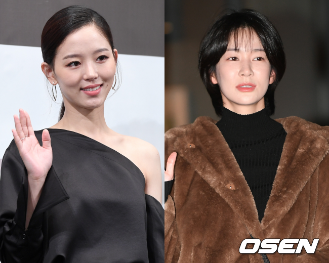[사진=OSEN DB] (왼쪽)강한나 (오른쪽)오혜원
