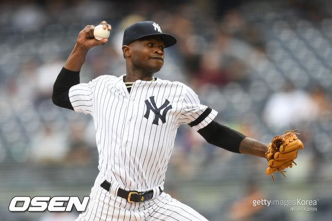 [사진] 뉴욕 양키스 도밍고 헤르만. ⓒGettyimages(무단전재 및 재배포 금지)