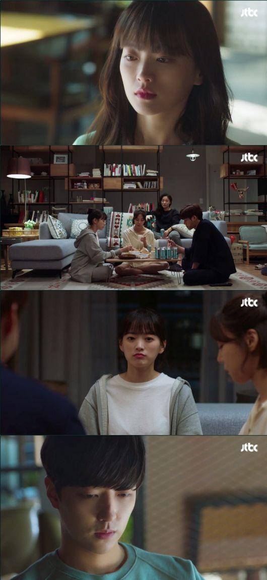 [사진=JTBC 방송화면] '멜로가 체질' 5회 속 천우희 과거 회상 장면.