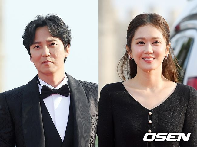 김남길(왼쪽), 장나라. OSEN DB