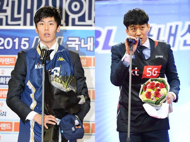 [사진] 양홍석, 송교창 / KBL