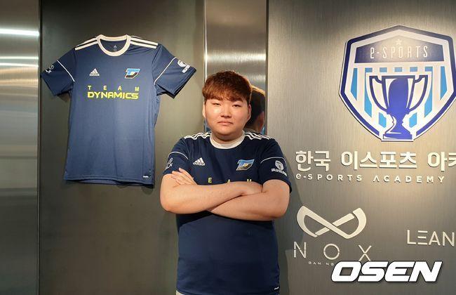 """[오!쎈 인터뷰] 다이나믹스 '단청' 양현종, """"롤파크 첫 출전, 설렌다"""""""