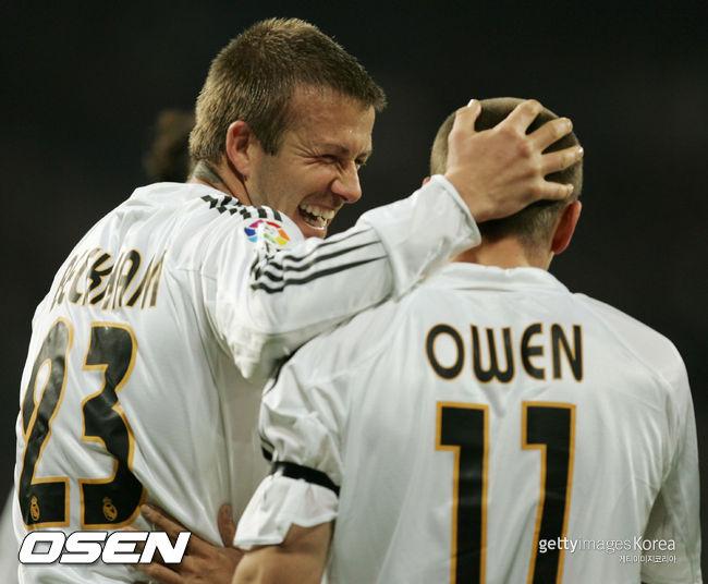 """막 나가는 오웬, """"레알 시절, 베컴이랑 친구 아니였어"""""""