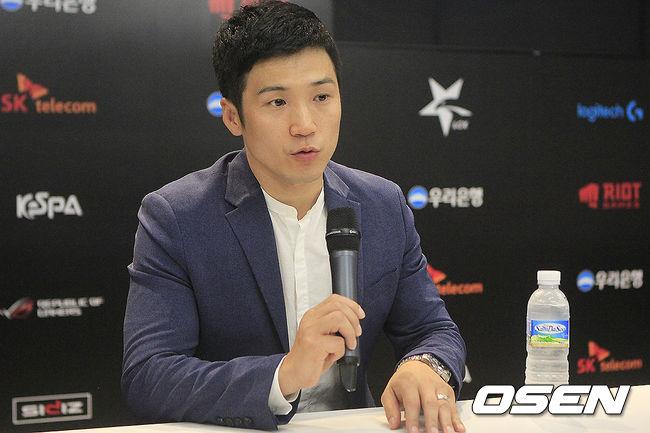 """[롤챔스 승강전] 한상용 진에어 감독, """"꼭 살아남겠다"""""""