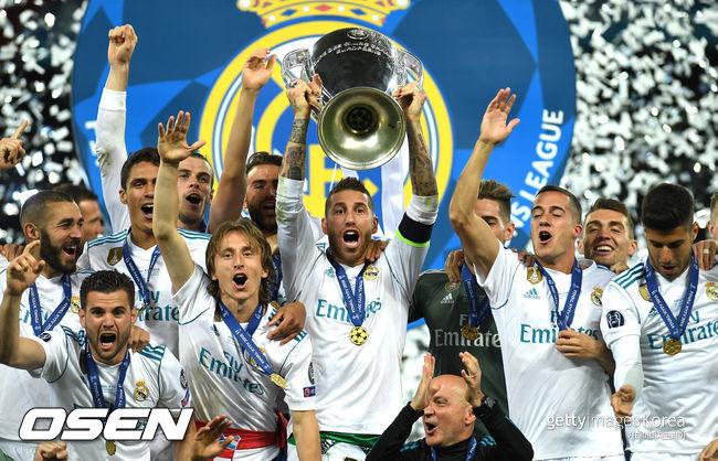 레알, 지난 시즌 부진에도 UEFA 클럽 랭킹 1위 [공식발표]