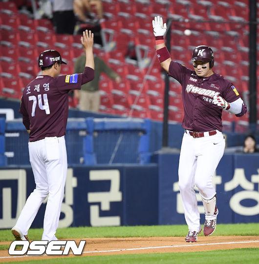 [사진]시즌 33호 홈런 박병호,홈런 1위 굳히기 들어갑니다