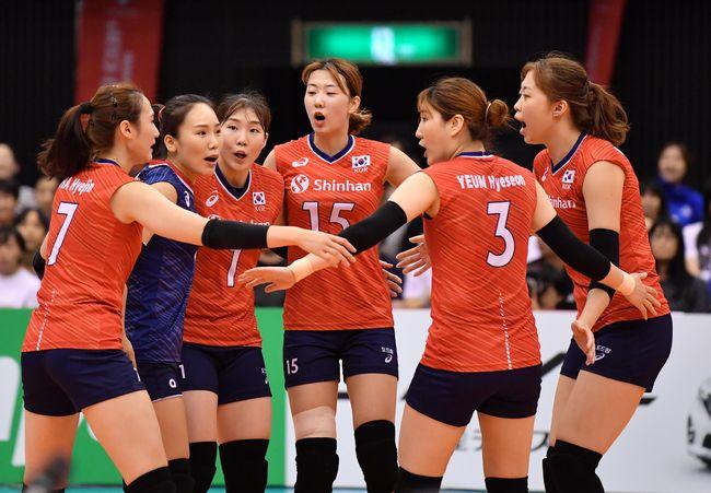 김연경 휴식-백업 활약 라바리니호, 케냐 꺾고 2연승 [월드컵]