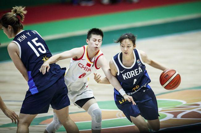'3Q 2득점' 여자농구, 중국에 28점차 완패…호주와 3,4위전