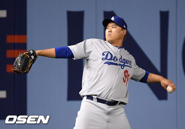 """""""류현진, 콜-범가너와 FA 톱3...TEX, 선발 필요"""" MLB.com"""