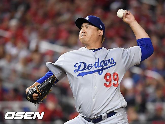 류현진, MLB 선수들이 투표한 최고 투수 TOP3 선정