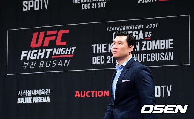 [사진]UFC 아시아 태평양 지사장, 케빈 장