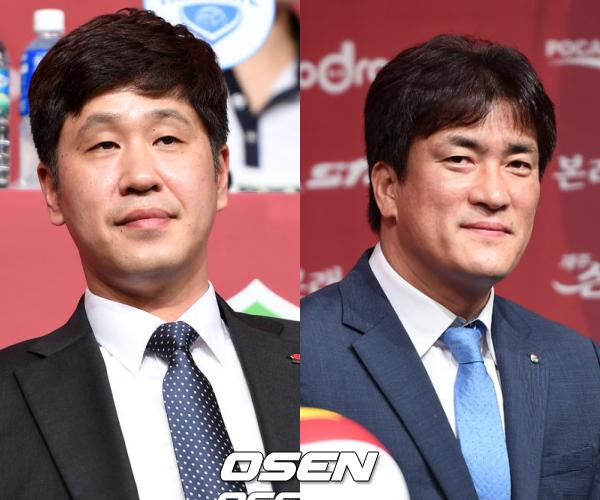 '올해도 치열' 김종민-차상현, 미디어데이 빛낸 절친 입담 대결