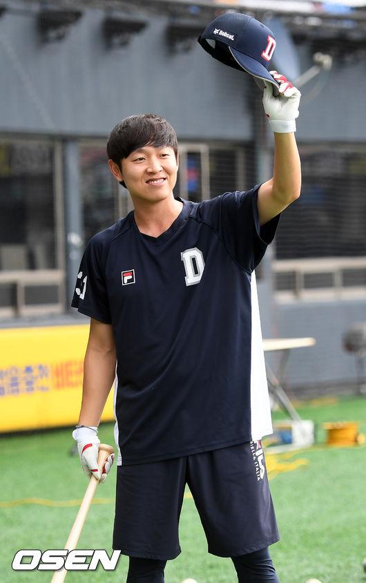 """'2015 KS MVP' 정수빈, """"가을의 떨림, 그대로 즐기겠다"""" [오!쎈 인터뷰]"""