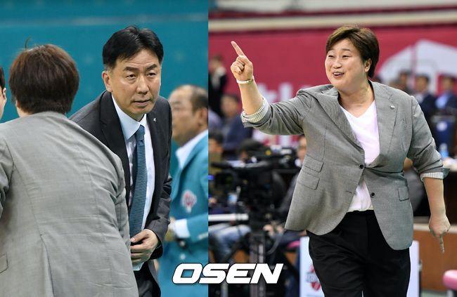 女농구 감독 데뷔전 이훈재-유영주, 결과는 갈렸지만 함께 웃었다
