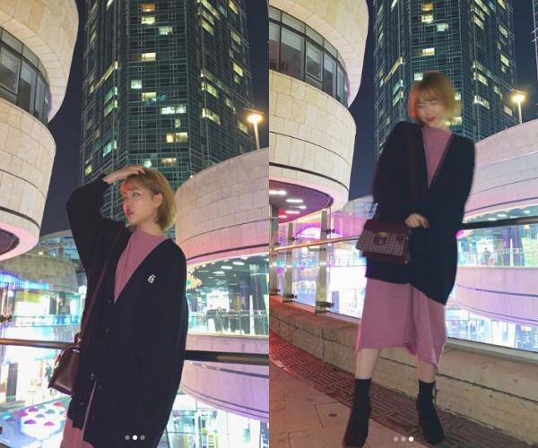 """""""감기 조심"""" 악동뮤지션 이수현, 가을밤 빛내는 분위기 여신[★SHOT!]"""