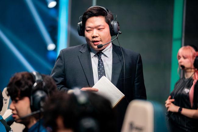 담원 김정수 코치. / 라이엇게임즈 플리커.