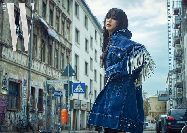 한예슬, 독특한 머리색깔…러블리→범접불가 다크 카리스마 [화보]