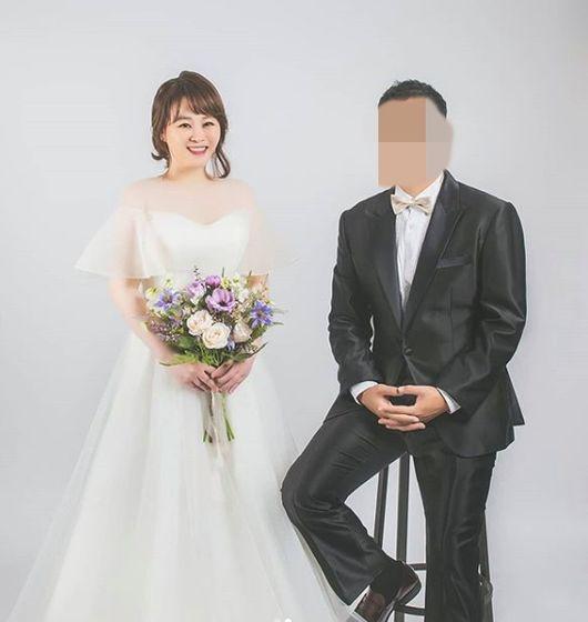 개그우먼 김현정, 3세 연하 예비신랑과 웨딩화보 촬영..
