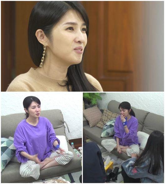 김경란, 성격차이 이혼→1년만 눈물 심경