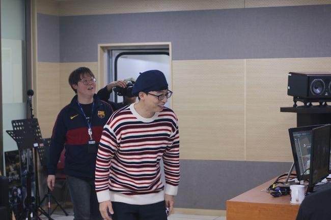 유재석, 트롯가수 유산슬로 '9595쇼' 깜짝 출연..'합정역 5번 출구' 라이브