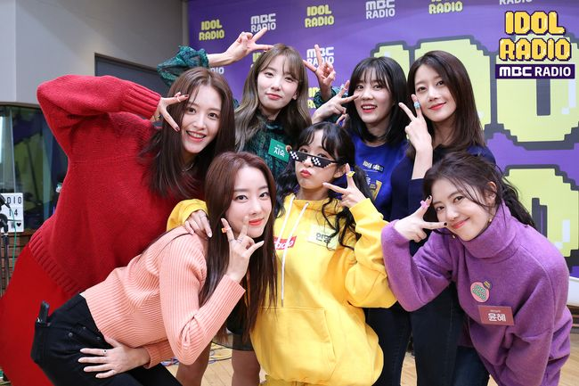 [사진=MBC 제공] 걸그룹 레인보우가 '아이돌 라디오'에서 데뷔 10주년을 기념했다.