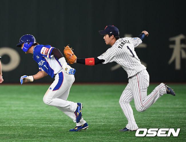 [사진]김상수,아쉬운 런다운