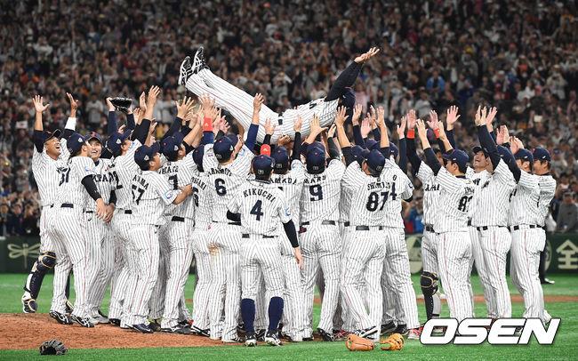[사진]일본 프리미어12 우승