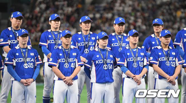 [사진]대한민국 야구대표팀, 프리미어12 아쉬운 준우승