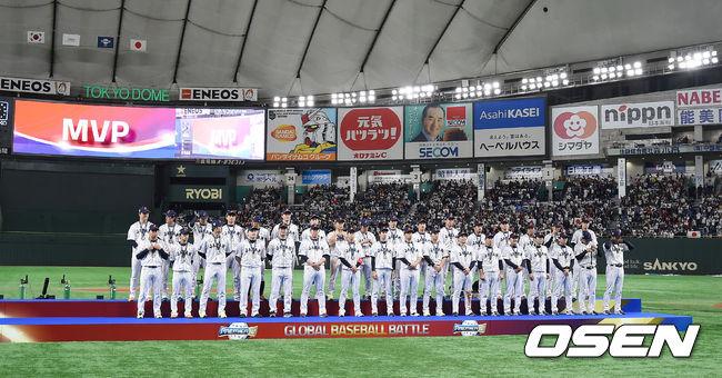 [사진]프리미어12 우승거둔 일본