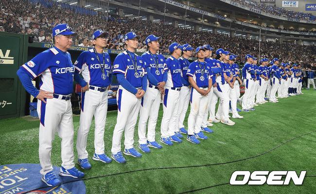 [사진]프리미어12 준우승 한국 대표팀,내년 도쿄 올림픽에선 반드시 승리를