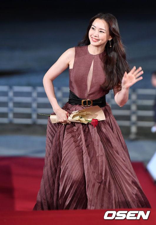 [오!쎈 짤]청룡영화상 레드카펫을 빛낸 여신들의 드레스 패션