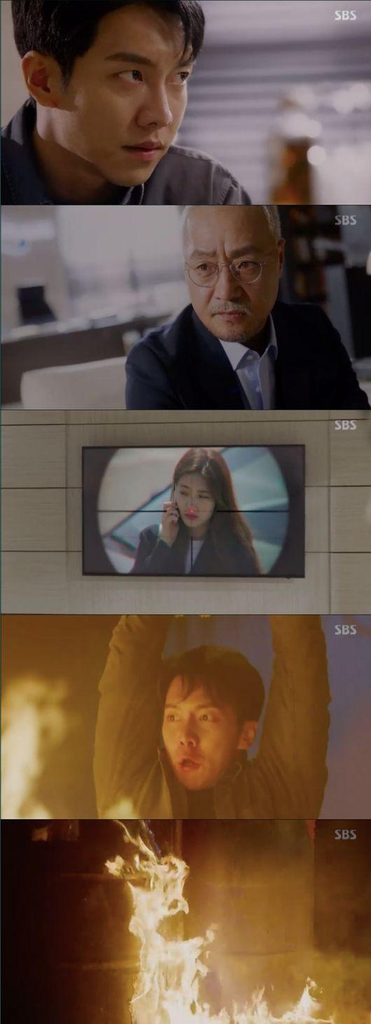 [사진=SBS 방송화면] '배가본드' 15회에서 이승기가 이경영의 정체를 알아냈다.