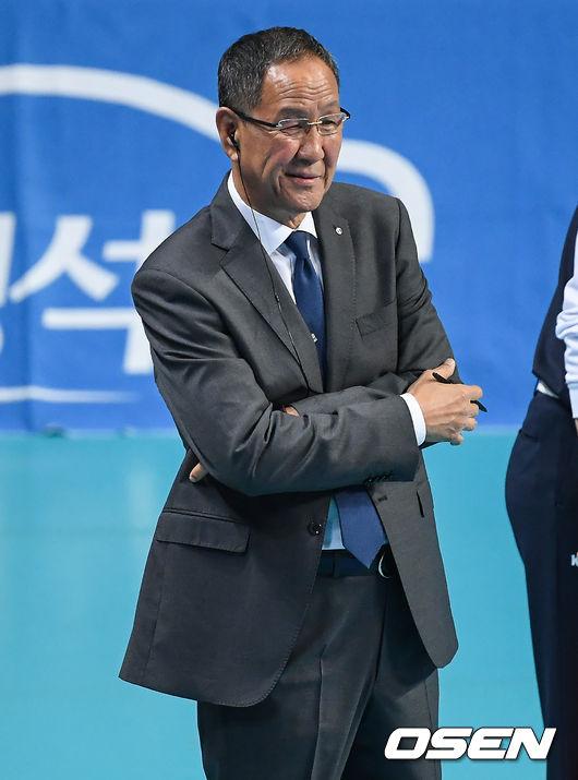 """박기원 감독 """"유광우 안아픈데 없어, 너무 잘해주고 있다"""" [현장 톡톡]"""