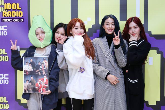 [사진=MBC 제공] AOA가 '아이돌 라디오'에 출연했다.